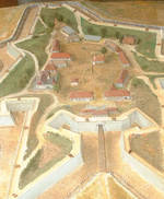 Maquette du Fort Sainte-Catherine